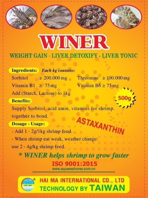 Winer (tăng trọng, giảm sốc, giải độc gan, nông to đường ruột)