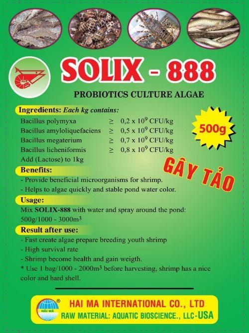 Solix-888 (vi sinh gây màu tảo khuê)