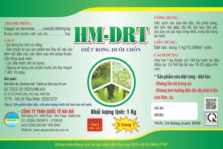 HM-DRT (diệt rong, tảo độc)