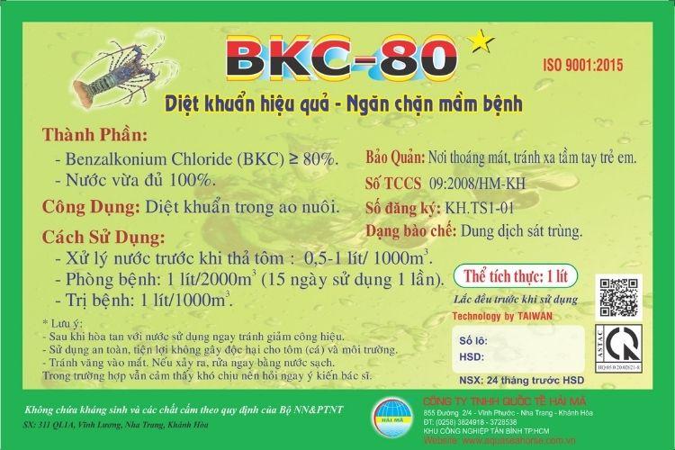 BKC-80 (diệt khuẩn)