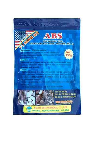 ABS (vi sinh xử lý đáy và nước, giảm NO2) 250g