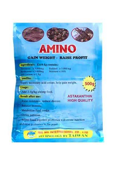Amino (tăng trọng, giảm sốc, giải độc gan, nông to đường ruột)