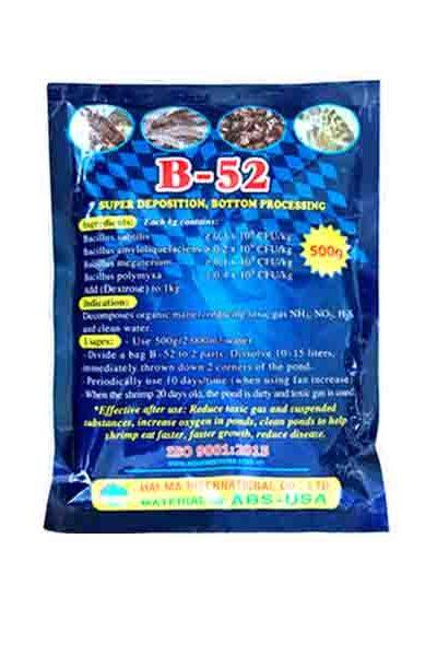 Vi sinh B-52 (vi sinh siêu lắng, xử lý đáy và nước bẩn)