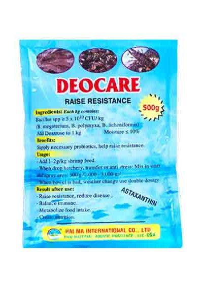 Deocare xử lý khí độc