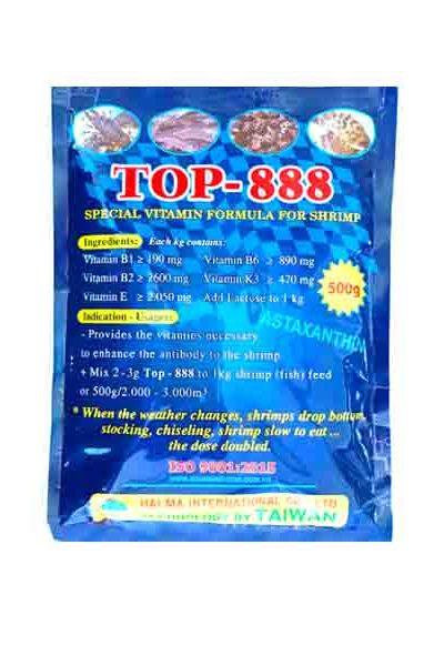 Top-888 (chống sốc, giải độc gan, cấp cứu tôm nổi đầu)